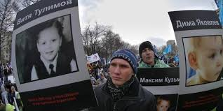 adoption des enfant en Russie