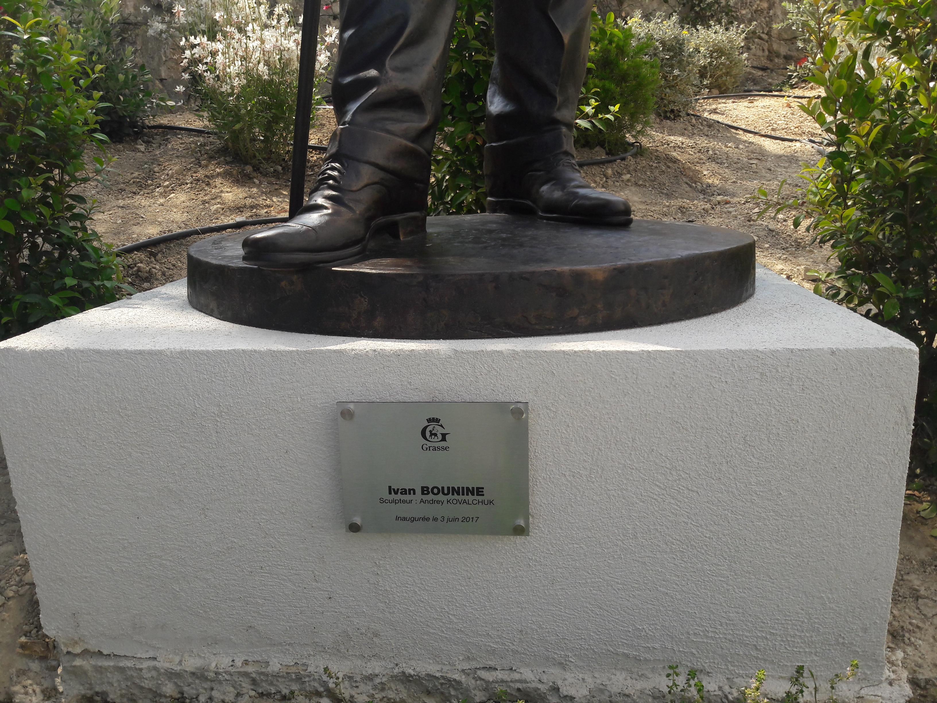 la statue d'Ivan Bounine